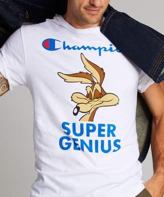 Looney Tunes Todd Snyder + Champion Champion + Super Genius Wile E Coyote Tee in White
