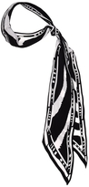 ROCKINS Zebra Super Skinny Scarf