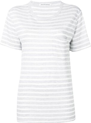 alexanderwang.t striped T-shirt