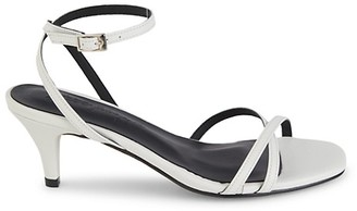 Free People Salina Faux Leather Heeled Sandals