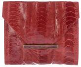R & Y Augousti R&Y Augousti Ostrich Leg Envelope Clutch
