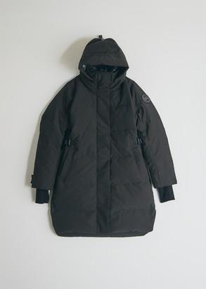 Canada Goose Black Label Women's Bennett Parka Jacket, Size Large | Polyester/Cotton/Nylon Elbows