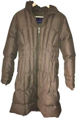 Moncler Green Coat for Women