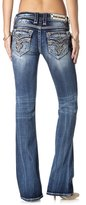 Rock Revival Jeans Women's Jayla B206 Bootcut Fluer De Lis