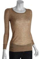 Joie oatmeal alpaca 'Gypsy' v-neck sweater