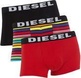 Diesel Men's 3 Pack Rainbow Trunk