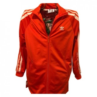Adidas Originals By Alexander Wang Red Cotton Jacket for Women
