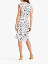 Phase Eight Avery Floral Print Dress, Ivory/Multi