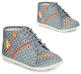 GBB GANLANTINE girls's Flip flops in Grey