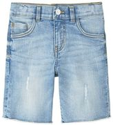 MANGO Boys Light Denim Bermuda Shorts