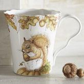 Pier 1 Imports Mazey the Squirrel Porcelain Mug