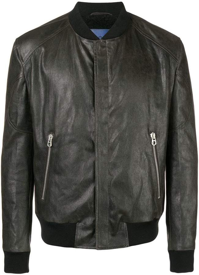 Drome zipped bomber jacket