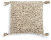 Lemon Marled Knit Pillow Case and Down Pillow Set