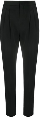 Saint Laurent High-Waist Tailored Trousers
