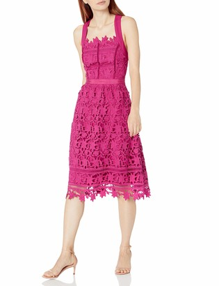 Adelyn Rae Women's Lace Midi Dress
