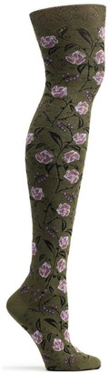 Ozone Women's Lace & Thorns Over The Knee Sock