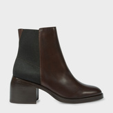 Paul Smith Women's Brown Leather 'Warren' Ankle Boots