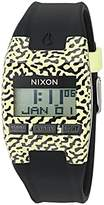 Nixon Men's 'Comp S' Plastic and Silicone Automatic Watch, Color:Black (Model: A3362155-00)
