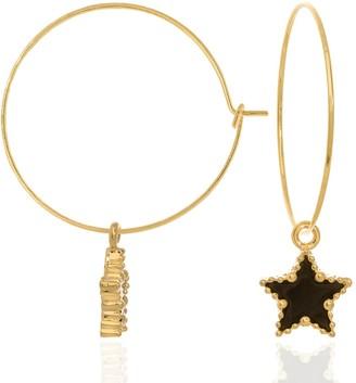 C.J.M Black Star Hoops