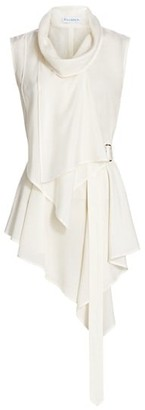 J.W.Anderson Sleeveless Layered Chiffon Top