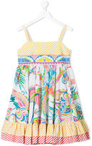 Roberto Cavalli printed sun dress - kids - Cotton - 10 yrs