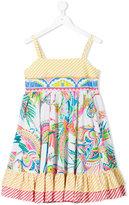 Roberto Cavalli printed sun dress