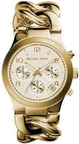 Michael Kors Classic MK3131 Women's Wrist Watches, White Dial