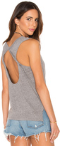 Bobi Speckled Jersey Open Back Tank