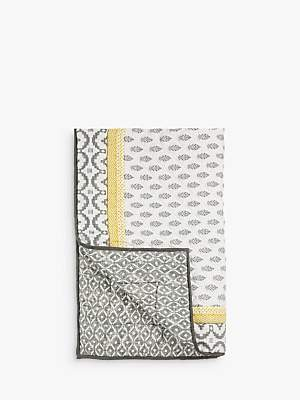 John Lewis & Partners Fusion Orchha Quilted Bedspread