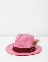 Maison Scotch Straw Hat