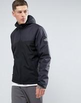 The North Face Westpeak Softshell Jacket Hooded 2 Tone In Black