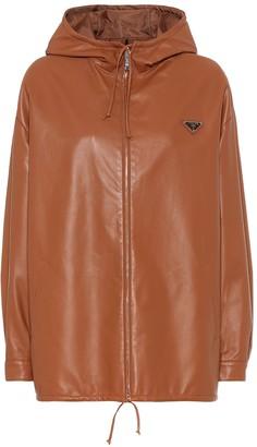 Prada Reversible leather and nylon jacket