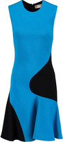 Emilio Pucci Two-tone stretch-knit mini dress