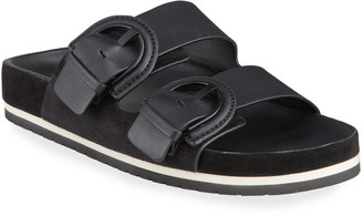 Vince Glyn Dual Buckle Slide Sandals
