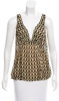 Missoni Patterned Sleeveless Top