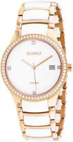 Roberto Bianci Womens Two Tone Bracelet Watch-Rb2952