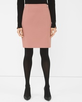 White House Black Market Seamed Boot Skirt