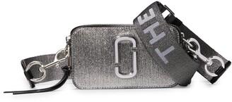 Marc Jacobs Snapshot Metallic Leather Crossbody Bag