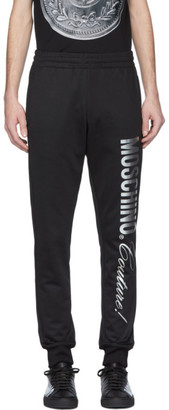 Moschino Black Couture Lounge Pants