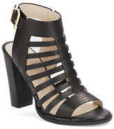 Kenneth Cole New York Skylar Leather Cage Sandals