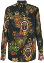 Dolce & Gabbana Stemmi Cotton Shirt