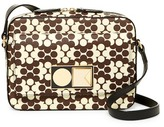 Orla Kiely Robin Leather Zip Bag
