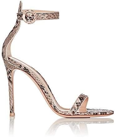 Gianvito Rossi Women's Portofino Ankle-Strap Sandals - Rosa