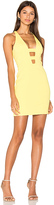 Jay Godfrey Loch Dress in Yellow