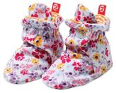 Zutano Size 18M White Floral Violetta Booties