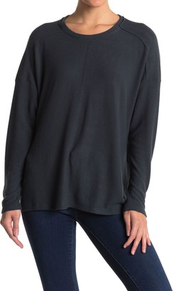 H By Bordeaux Center Seam Hacci Knit Pullover