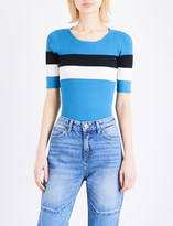 Sandro Striped knitted jumper