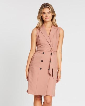 Dorothy Perkins Sleeveless Trench Dress