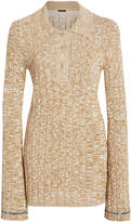 Joseph Melange Ribbed-Knit Tunic