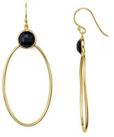 Argentovivo Oval Drop Earrings
